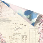 Prima - Santorini Collection - 12 x 12 Double Sided Paper - Summer Loving with Foil Accents