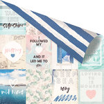 Prima - Santorini Collection - 12 x 12 Double Sided Paper - Santorini Moments with Foil Accents