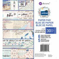 Prima - Santorini Collection - 6 x 6 Paper Pad
