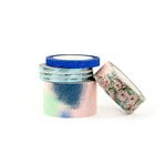 Prima - Santorini Collection - Decorative Tapes with Glitter and Foil Accents