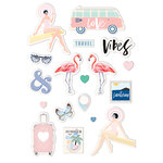 Prima - Santorini Collection - Puffy Stickers