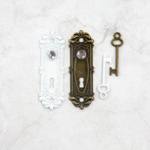 Prima - Memory Hardware - Antique Metalware - Avignon Lock and Key