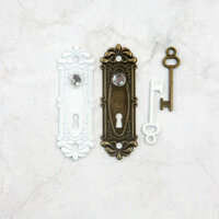 Prima - Memory Hardware - Antique Metalware - Avignon Lock and Key
