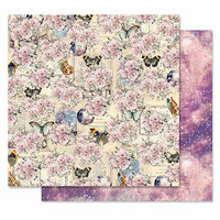 Prima - Moon Child Collection - 12 x 12 Double Sided Paper - Love Constellations