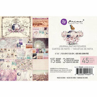 Prima - Moon Child Collection - 4 x 6 Journaling Cards