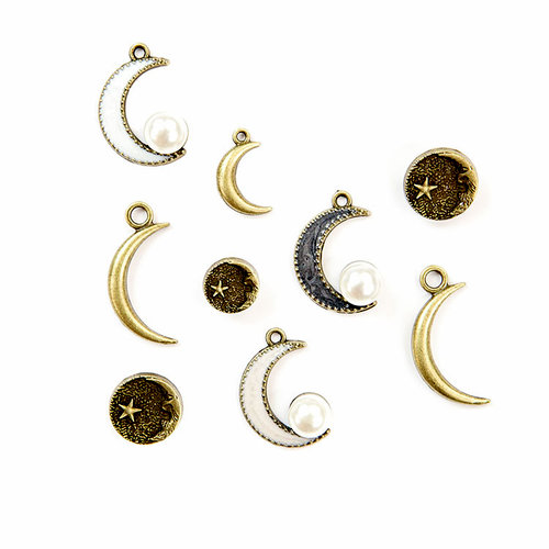 Prima - Moon Child Collection - Metal Trinkets