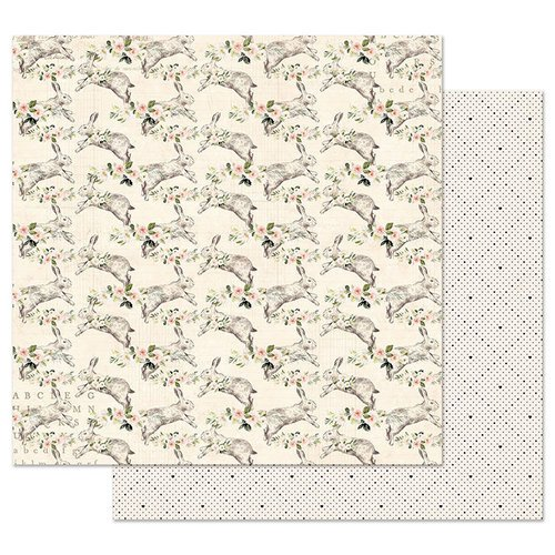Prima - Spring Farmhouse Collection - 12 x 12 Double Sided Paper with Foil Accents - Spring Farmhouse
