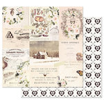 Prima - Spring Farmhouse Collection - 12 x 12 Double Sided Paper with Foil Accents - Wander