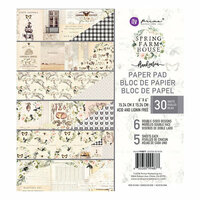 Prima - Spring Farmhouse Collection - 6 x 6 Paper Pad