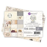 Prima - Spring Farmhouse Collection - 4 x 6 Journaling Cards