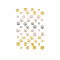 Prima - Spring Farmhouse Collection - Say It In Crystals - Self Adhesive Jewels