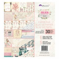 Prima - Golden Coast Collection - 8 x 8 Paper Pad