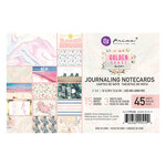Prima - Golden Coast Collection - 4 x 6 Journaling Cards