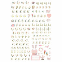 Prima - Golden Coast Collection - Alphabet Stickers