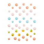 Prima - Golden Coast Collection - Say It In Crystals - Self Adhesive Jewels
