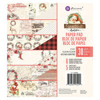 Prima - Christmas in the Country Collection - 6 x 6 Paper Pad