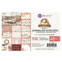 Prima - Christmas in the Country Collection - 4 x 6 Journaling Cards