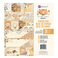 Prima - Autumn Sunset Collection - 8 x 8 Paper Pad