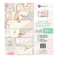 Prima - Dulce Collection - Dulce Collection - 8 x 8 Paper Pad