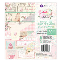 Prima - Dulce Collection - 6 x 6 Paper Pad