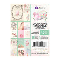 Prima - Dulce Collection - 3 x 4 Journaling Cards