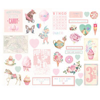 Prima - Dulce Collection - Dulce Collection - Chipboard with Foil Accents