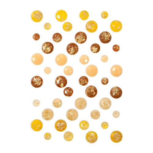 Prima - Autumn Sunset Collection - Stickers - Say It In Crystals