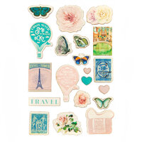Prima - Capri Collection - Wood Stickers