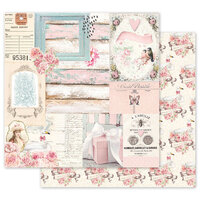 Prima - With Love Collection - 12 x 12 Double Sided Paper - All Of The Pretty Things