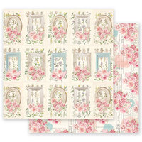 Prima - With Love Collection - 12 x 12 Double Sided Paper - Through The Garden