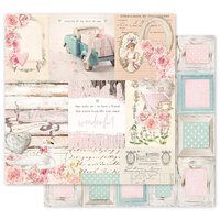Prima - With Love Collection - 12 x 12 Double Sided Paper - All That I Need