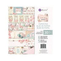 Prima - With Love Collection - 8 x 8 Paper Pad