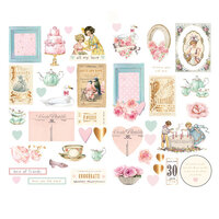 Prima - With Love Collection - Chipboard Stickers