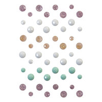 Prima - Sugar Cookie Christmas Collection - Say It In Crystals - Self Adhesive Jewels