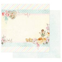 Prima - Magic Love Collection - 12 x 12 Double Sided Paper - Fill My Heart With Love