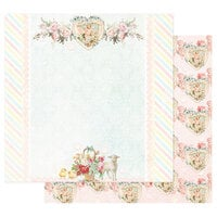 Prima - Magic Love Collection - 12 x 12 Double Sided Paper - Loving You Always