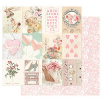 Prima - Magic Love Collection - 12 x 12 Double Sided Paper - Sweetness
