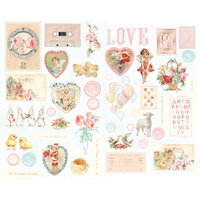 Prima - Magic Love Collection - Chipboard Stickers