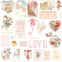 Prima - Magic Love Collection - Ephemera - Foil Accents