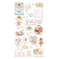 Prima - Magic Love Collection - Puffy Stickers