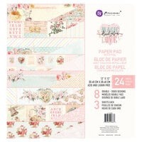 Prima - Magic Love Collection - 12 x 12 Paper Pad