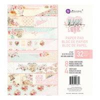 Prima - Magic Love Collection - 8 x 8 Paper Pad