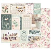 Prima - My Sweet Collection - 12 x 12 Double Sided Paper - Let's Shine Together
