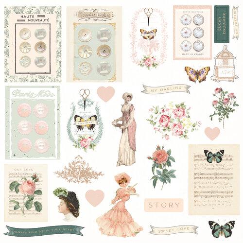 Prima - My Sweet Collection - Ephemera - Set Two