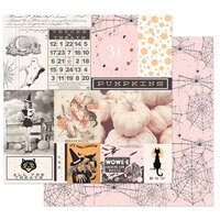 Prima - Thirty-One Collection - 12 x 12 Double Sided Paper - All the Treats