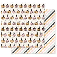 Prima - Thirty-One Collection - 12 x 12 Double Sided Paper - Jack-O-Lanterns