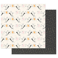 Prima - Thirty-One Collection - 12 x 12 Double Sided Paper - Boo to You