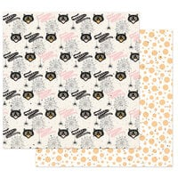 Prima - Thirty-One Collection - 12 x 12 Double Sided Paper - Cute and Scary