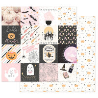 Prima - Thirty-One Collection - 12 x 12 Double Sided Paper - Magical Haunt
