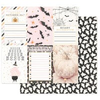 Prima - Thirty-One Collection - 12 x 12 Double Sided Paper - Hocus Pocus